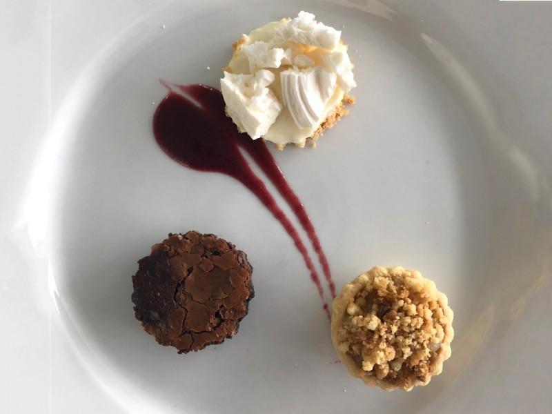 Trio-of-dessert